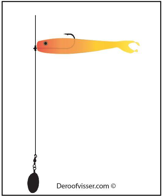 dropshot vissen basis