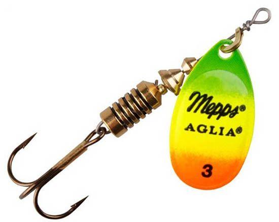 Mepps aglia - 6 cm - tijger goud
