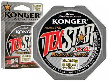 Konger Texstar Braided Line - 0.14 mm - 9.6 kg