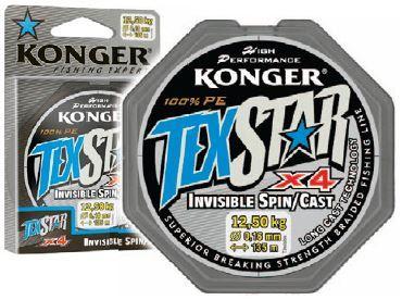 Konger Texstar Invisible Spin - 0.08 mm - 5.7 kg