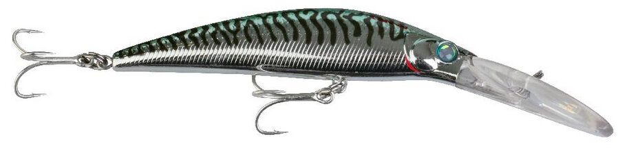 Savage Gear Manic Prey Deepdiver- 16.5 cm - green mackerel
