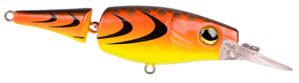 Spro Pike fighter jointed - 8cm - fire dragon