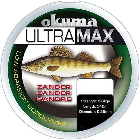 Okuma Ultramax Zander - 0.25 mm - 5.6 kg