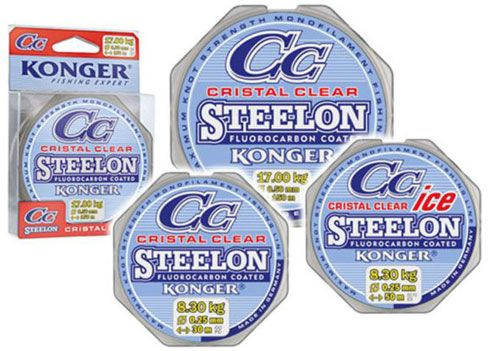 Konger Steelon Cristal Clear - 0.22 mm - 6.7 kg