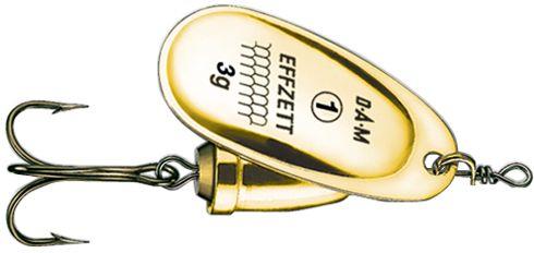 DAM Effzett executor spinner- 3.5 cm - gold