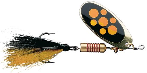 DAM Effzett standard spinner dressed - 7 cm - blacky