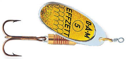 DAM Effzett standard spinner- 5 cm - reflex gold