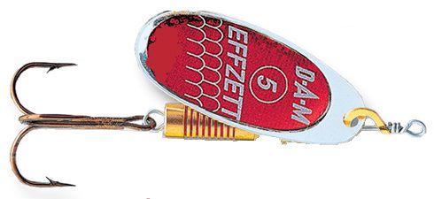 DAM Effzett standard spinner- 5 cm - reflex red