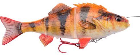 Savage Gear 4D line thru perch - 17 cm - albino