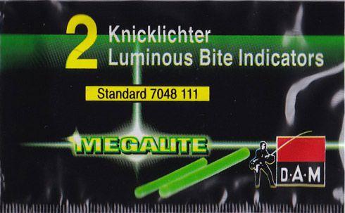 DAM Megalite knicklicht - geel