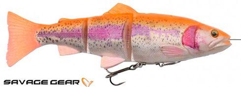 Savage Gear 4D line thru trout - 15 cm - golden albino