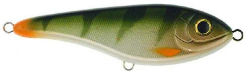 Strike Pro Buster Jerk - 15 cm - natural perch