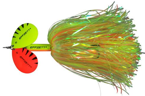 DAM Effzett Pike Rattlin Spinner - 19 cm - fluo / yellow orange