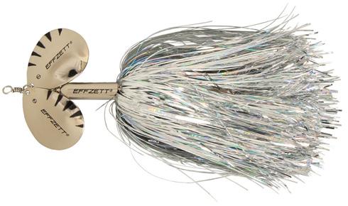 DAM Effzett Pike Rattlin Spinner - 19 cm - silver