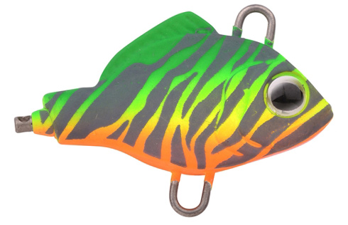 Spro ASP Spinner UV - 6 cm - 10 gram - fire zebra