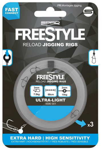 Spro Freestyle Reload Jig Rig 0.28 mm