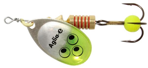 Mepps Aglia E - 4 cm - chartreuse bright