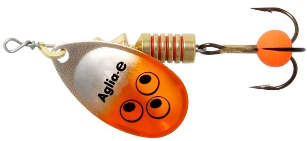 Mepps Aglia E - 4 cm - orange bright