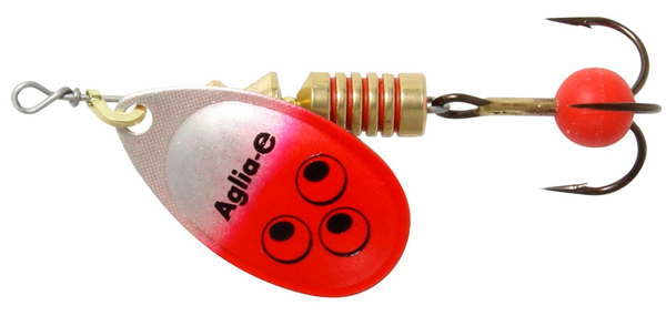 Mepps Aglia E - 4 cm - red bright