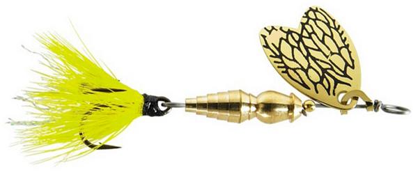 Mepps Bug - 4 cm - yellow may