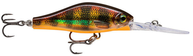 Rapala Shadow Rap Jack Deep - 5 cm - Molten Copper Perch