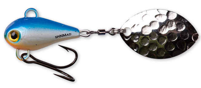 SpinMad MAG - 4.5 cm - blauw wit
