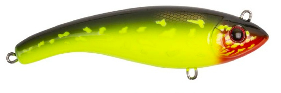 Strike Pro Ghost Buster - 14 cm - hot pike
