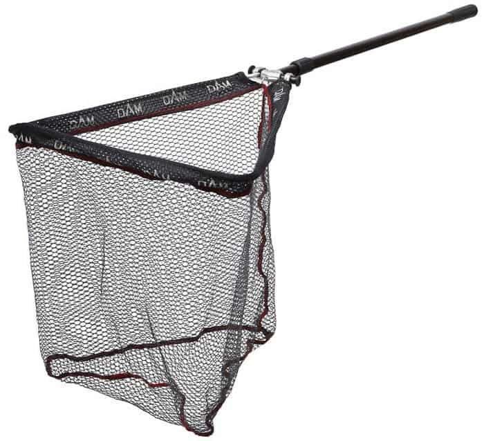 DAM 2-piece hammerhead net rubberised 80 x 80 cm