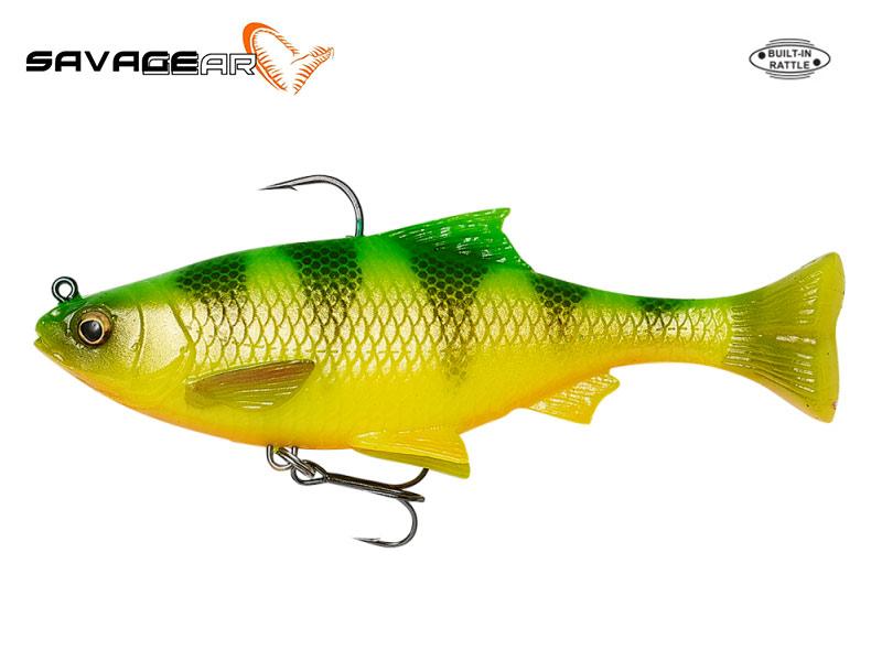 Savage Gear 3D Pulse Tail Roach - 13 cm - firetiger