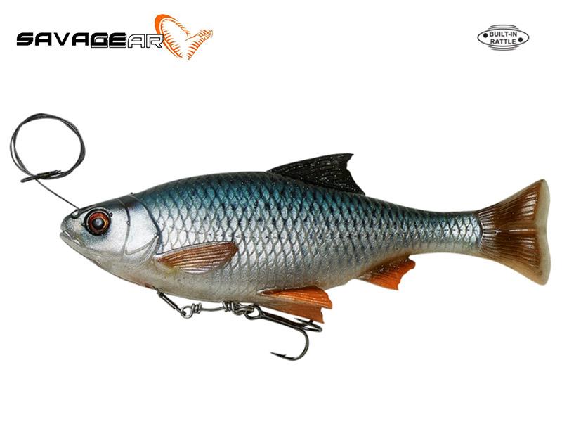 Savage Gear 4D Line Thru Pulse Tail Roach - 18 cm - roach