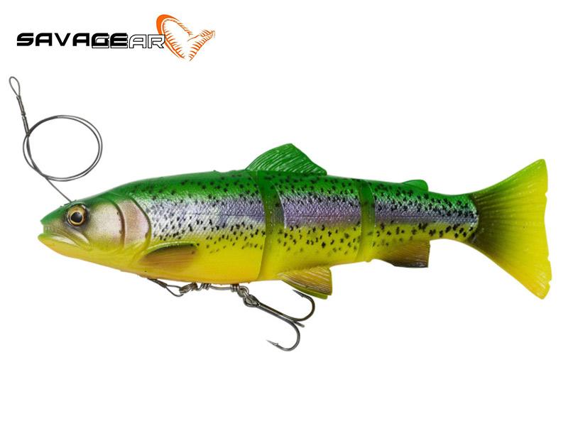 Savage Gear 4D line thru trout - 15 cm - fire trout