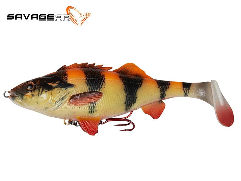 Savage Gear 4D Perch Shad - 12.5 cm - albino