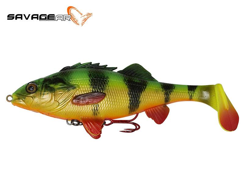 Savage Gear 4D Perch Shad - 17.5 cm - firetiger