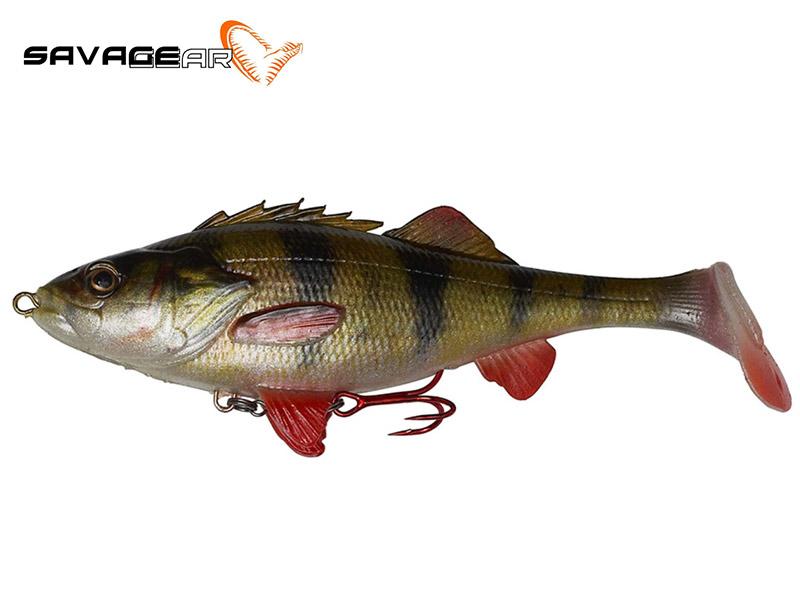 Savage Gear 4D Perch Shad - 12.5 cm - perch