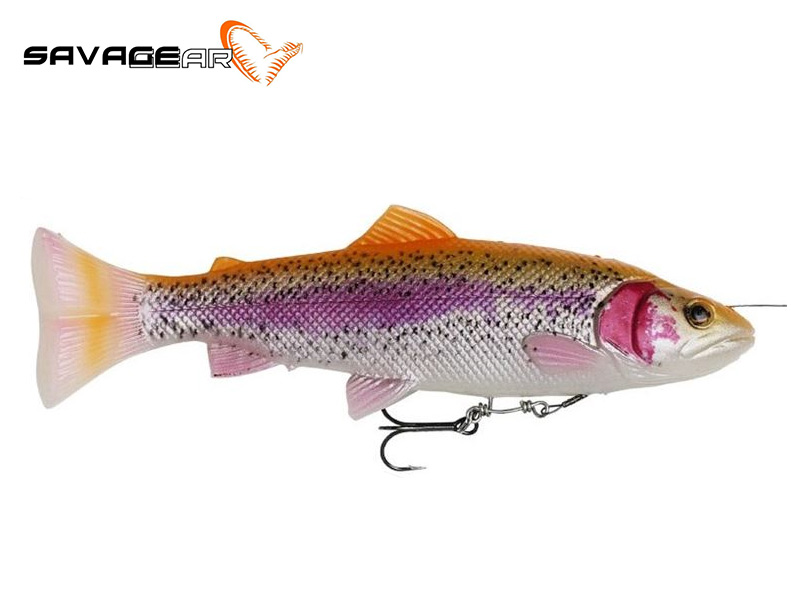 Savage Gear 4D Pulse Tail Trout - 16 cm - albino trout