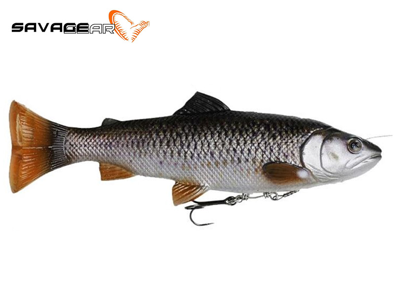 Savage Gear 4D Pulse Tail Trout - 16 cm - chub
