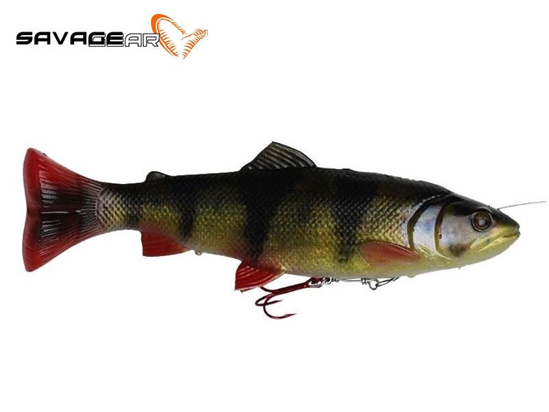Savage Gear 4D Pulse Tail Trout - 16 cm - perch