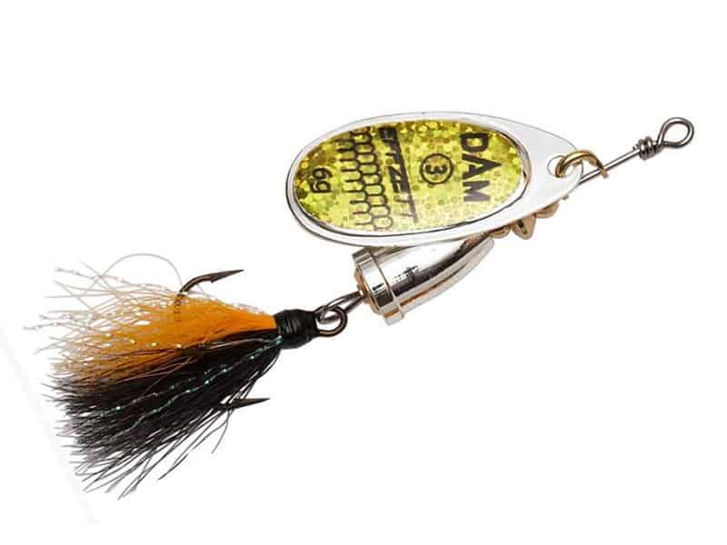 DAM Effzett Executor Dressed Spinner - 8 cm - reflex gold