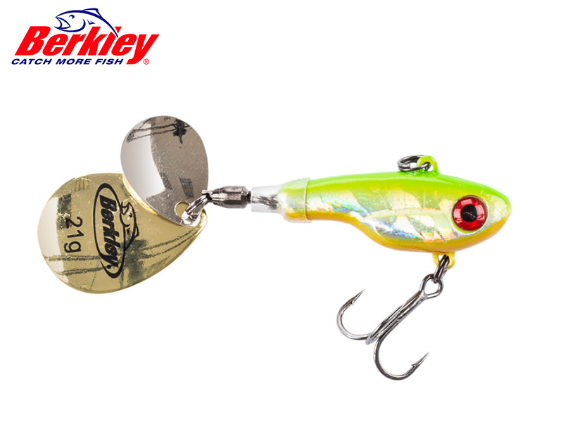 Berkley Pulse Spintail - 7 cm - candy lime