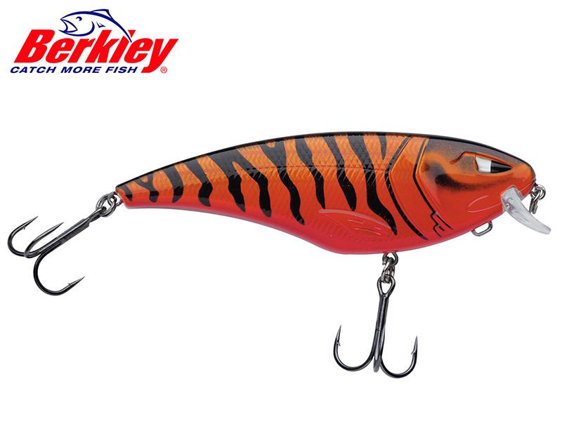 Berkley Zilla Flanker - 11 cm - red tiger