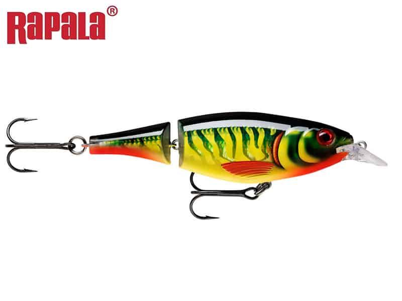 Rapala X-Rap Jointed Shad - 13 cm - hot pike