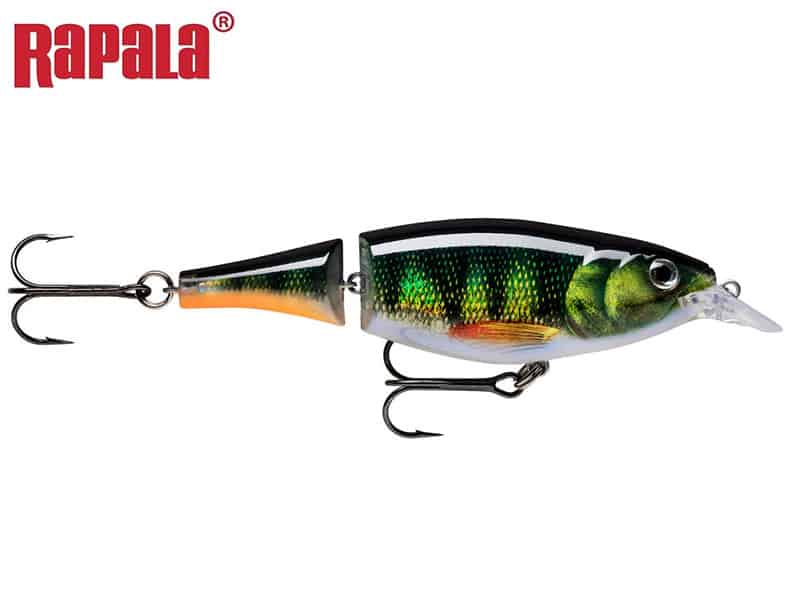 Rapala X-Rap Jointed Shad - 13 cm - live perch