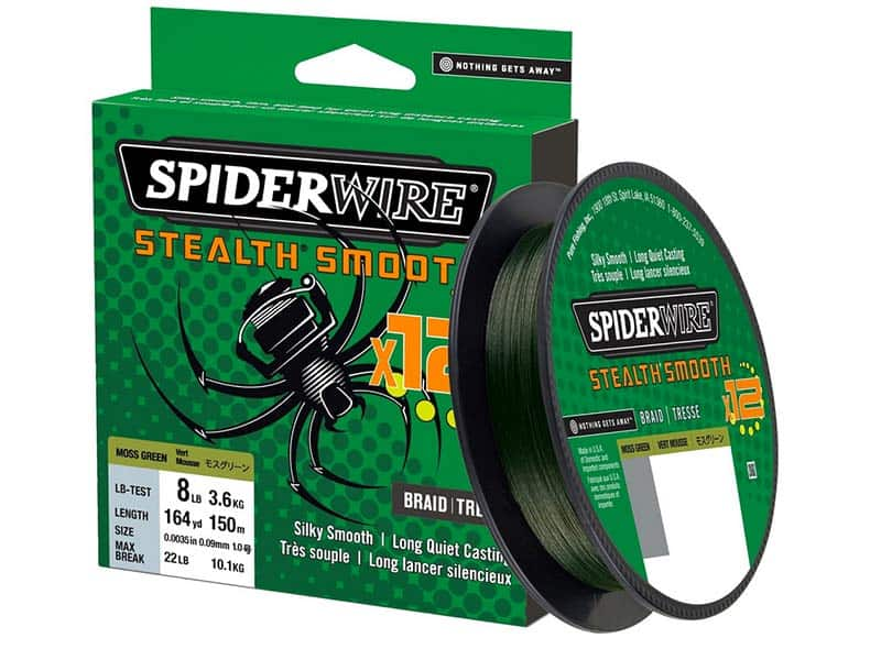 SpiderWire Stealth Smooth 12 - moss green - 150 m - 0.15 mm