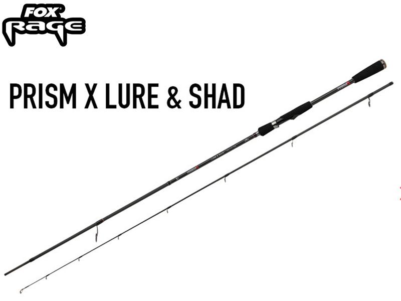 Fox Rage Prism X Lure & Shad Rod - 270 cm - 10 - 50 gram