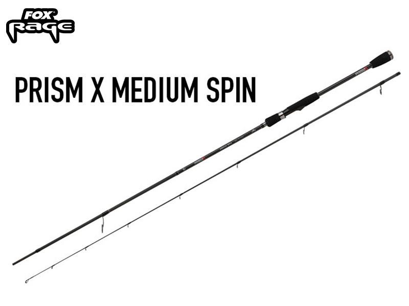 Fox Rage Prism X Medium Spin Rod Rod - 240 cm - 5 - 21 gram
