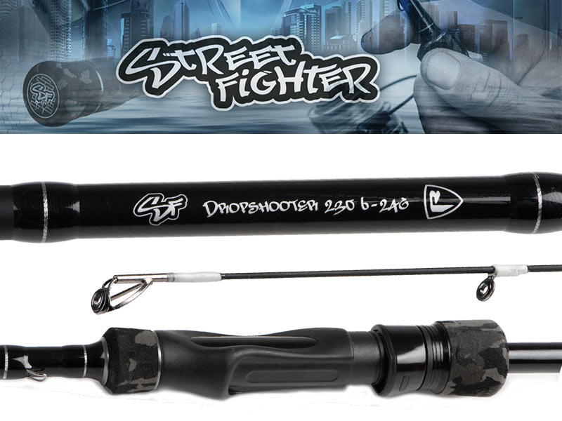 Fox Rage Street Fighter Dropshooter rod - 230 cm - 6 - 24 gram