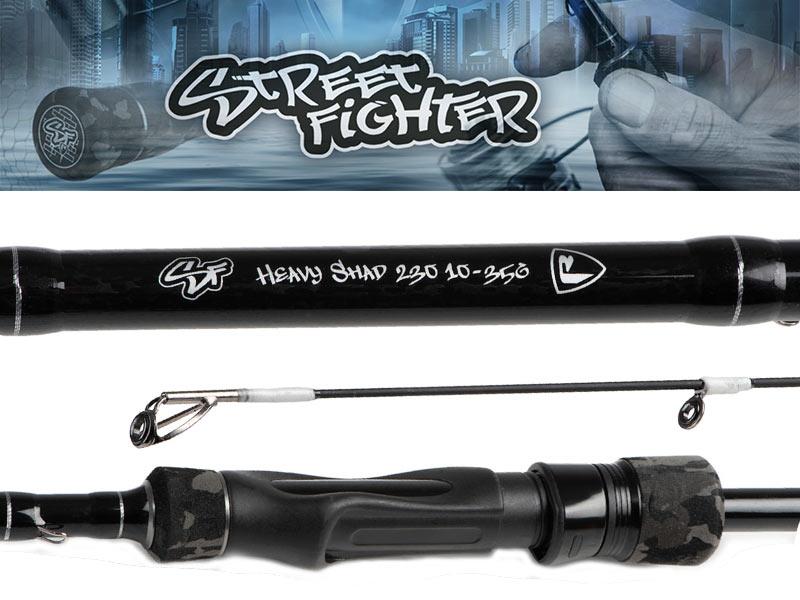 Fox Rage Street Fighter Heavy Shad rod - 230 cm - 10 - 35 gram
