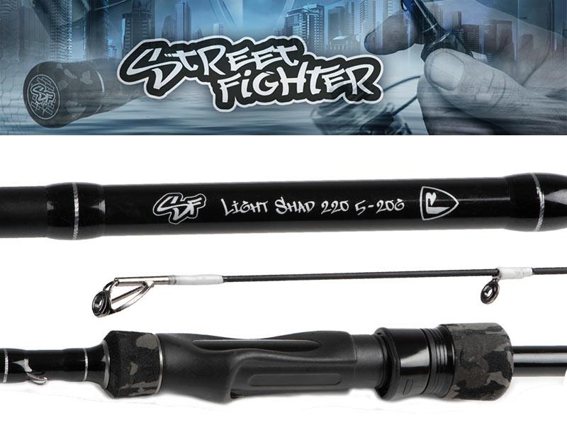 Fox Rage Street Fighter Light Shad rod - 220 cm - 5 - 20 gram