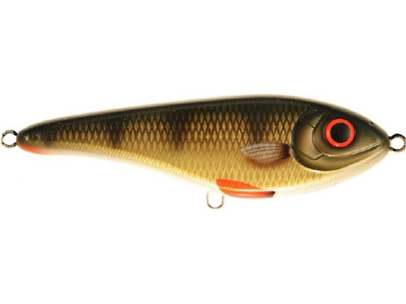 Strike Pro Buster Jerk II - 12 cm - golden perch
